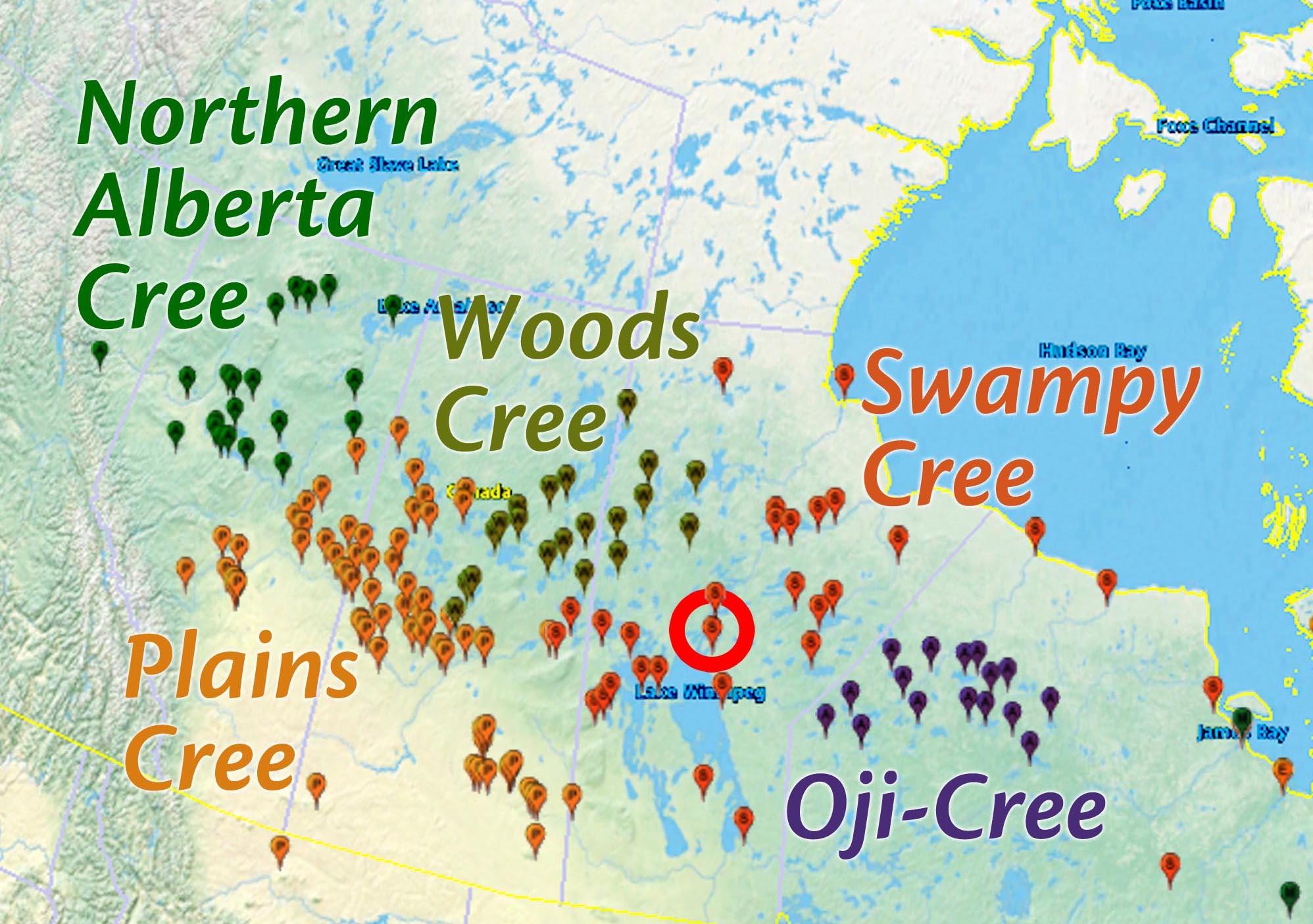 Mason Cree Languages
