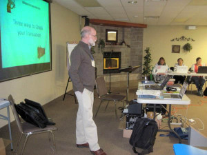 Steve Kempf teaches about translation checking