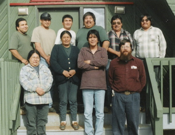 Naskapi MTT course at Kawawachikamach --1992