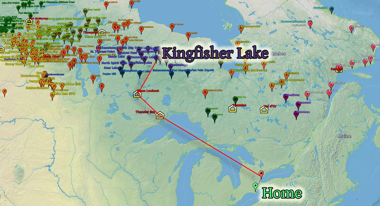 Windham to Kingfisher