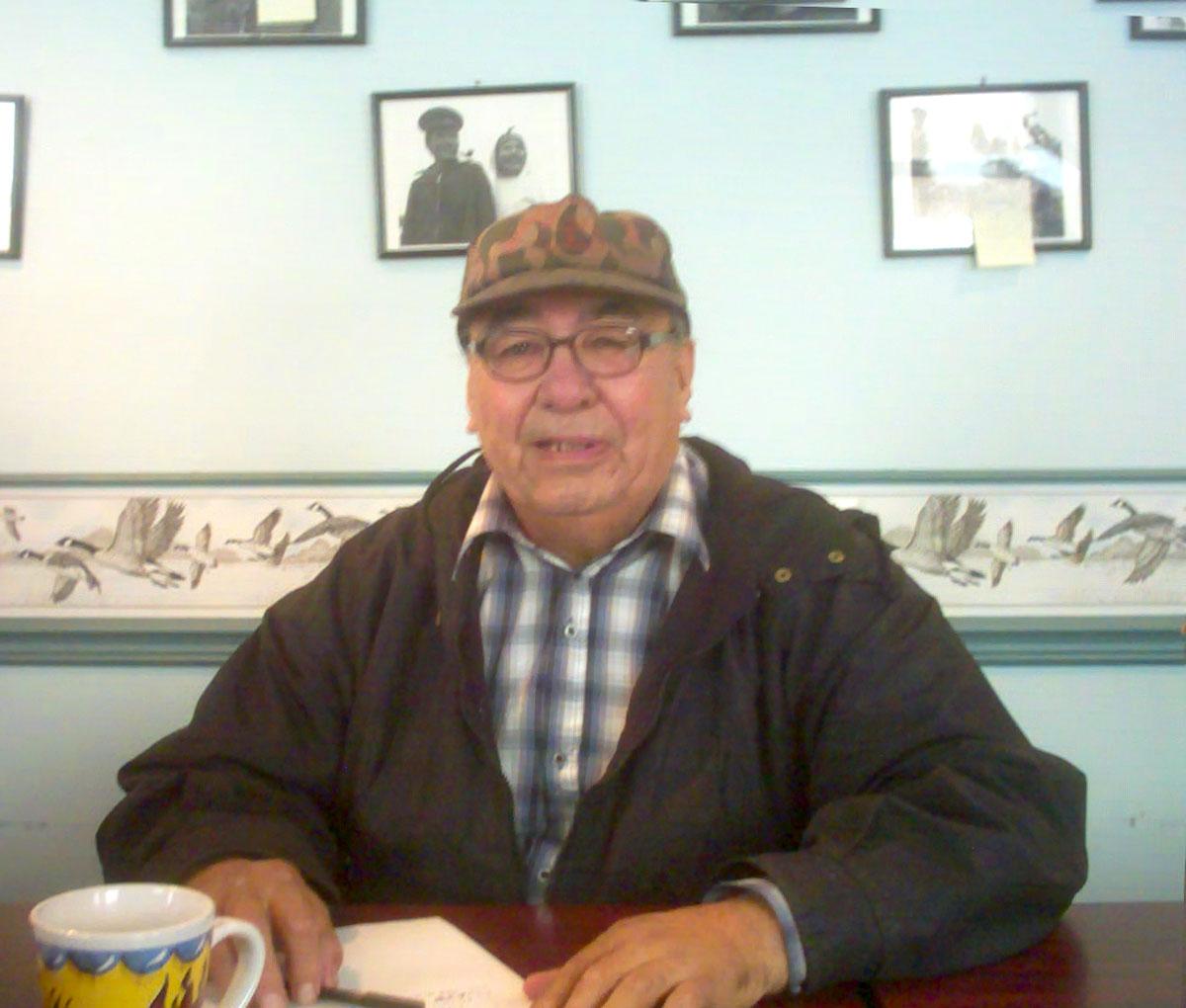 Joseph Guanish at the Naskapi Development Corporation