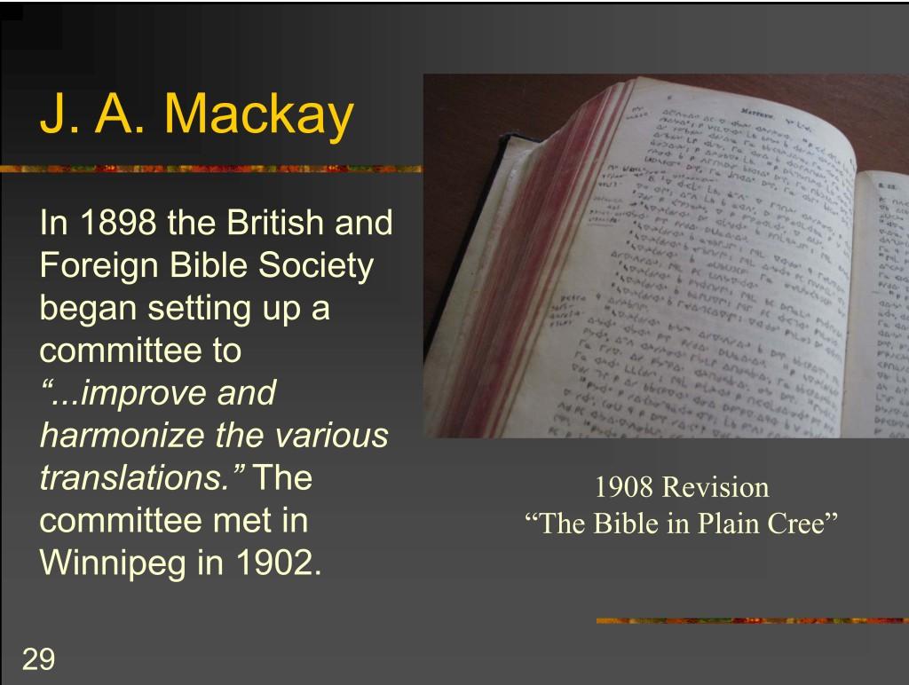 MacKay Revision