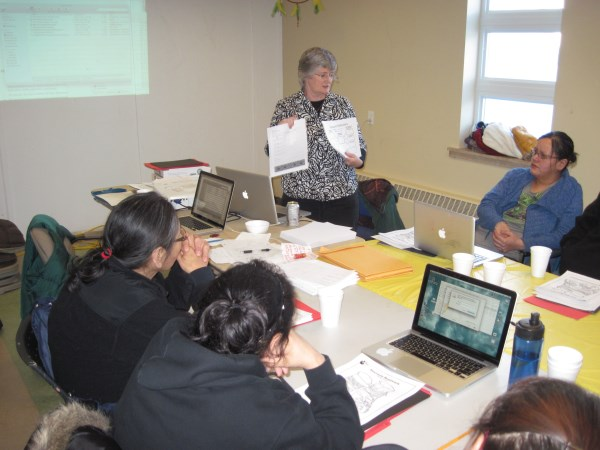 Mushuau Innu Teacher Training in Natuashish, Labrador