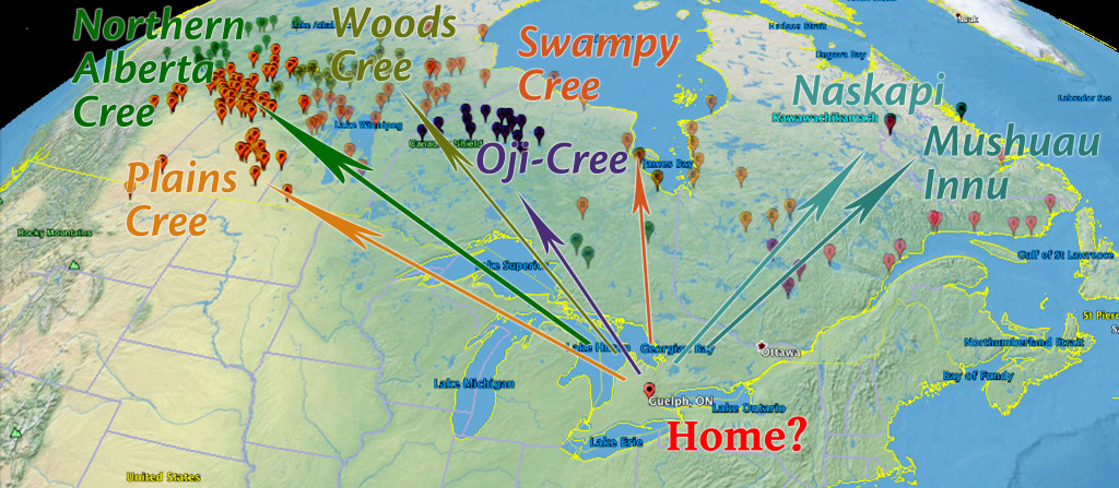 Home to First Nations Map