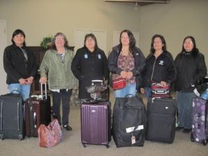 Oji-Cree translators from Kingfisher Lake
