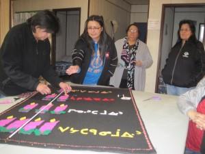 Oji-Cree Church Banners